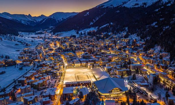 Five Decades of Davos